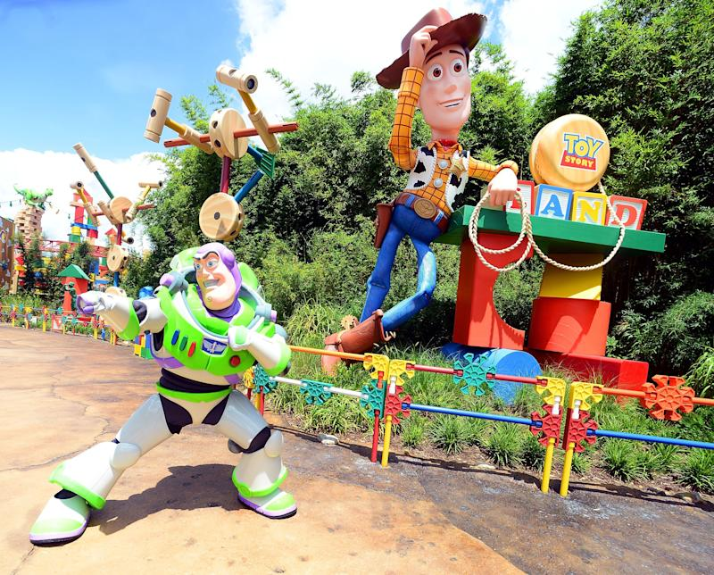 Of course, Woody's bud Buzz Lightyear will also be around to say hi to visitors.