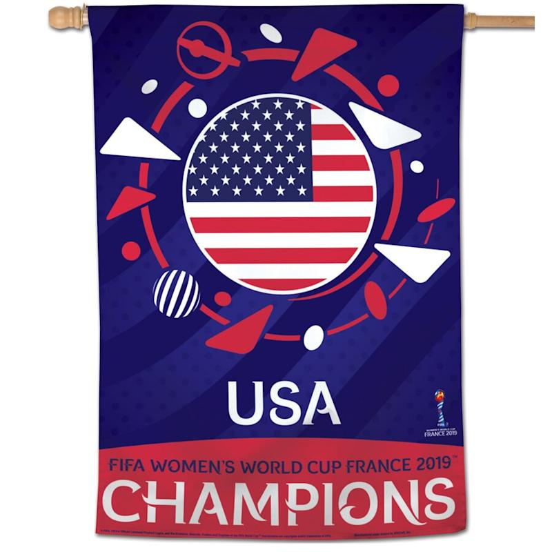 USWNT 2019 FIFA Women's World Cup Champions 28'' x 40'' Banner