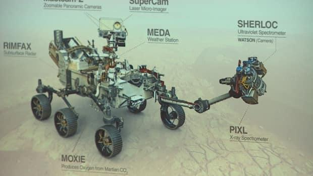 SHERLOC will look for signatures of life on the Red Planet.