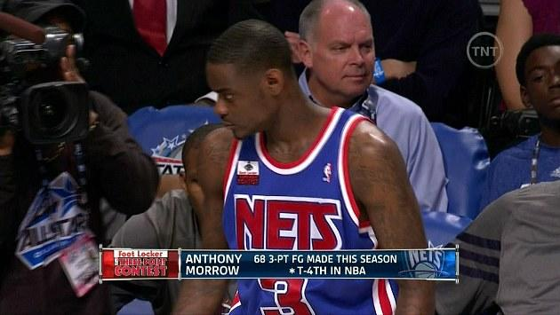 Anthony Morrow pays tribute to Drazen Petrovic at Three-Point Contest 7466c6ba9