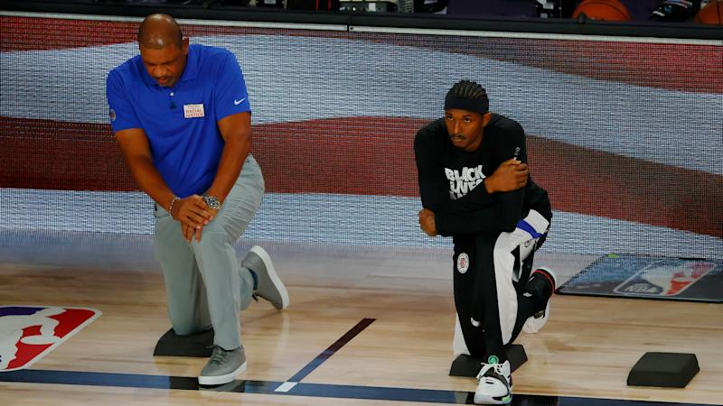 Clippers' Doc Rivers delivers impassioned call for justice: 'This country does not love us'