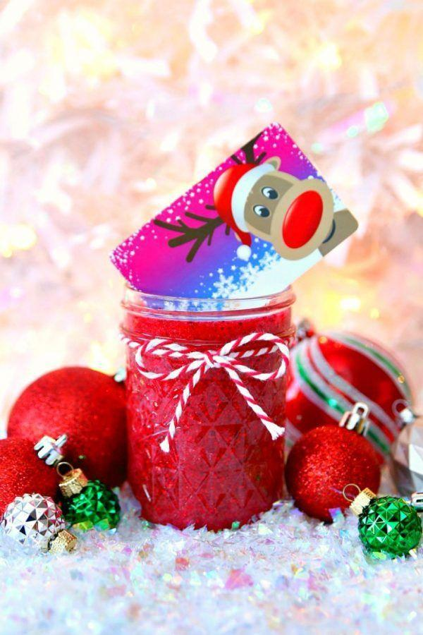 """<p>Make getting gift cards fun for littles by sticking them in Christmas slime. Your kids can even help out making the red glittery goo!</p><p><strong>Get the tutorial at <a href=""""https://www.happygoluckyblog.com/mason-jar-holiday-gift-card-holder/"""" rel=""""nofollow noopener"""" target=""""_blank"""" data-ylk=""""slk:Happy Go Lucky"""" class=""""link rapid-noclick-resp"""">Happy Go Lucky</a>.</strong></p><p><a class=""""link rapid-noclick-resp"""" href=""""https://www.amazon.com/Spectra-Purpurina-Cristales-Brillantes-91640/dp/B000J07O0A/ref=asc_df_B000J07O0A/?tag=syn-yahoo-20&ascsubtag=%5Bartid%7C10050.g.2132%5Bsrc%7Cyahoo-us"""" rel=""""nofollow noopener"""" target=""""_blank"""" data-ylk=""""slk:SHOP RED GLITTER"""">SHOP RED GLITTER</a><br></p>"""