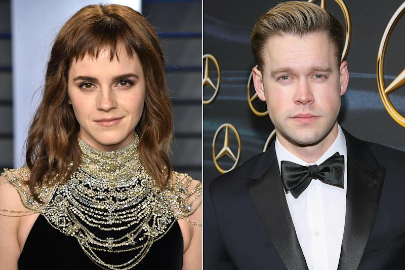 Emma Watson, \'Glee\' Star Chord Overstreet Spotted Holding Hands ...