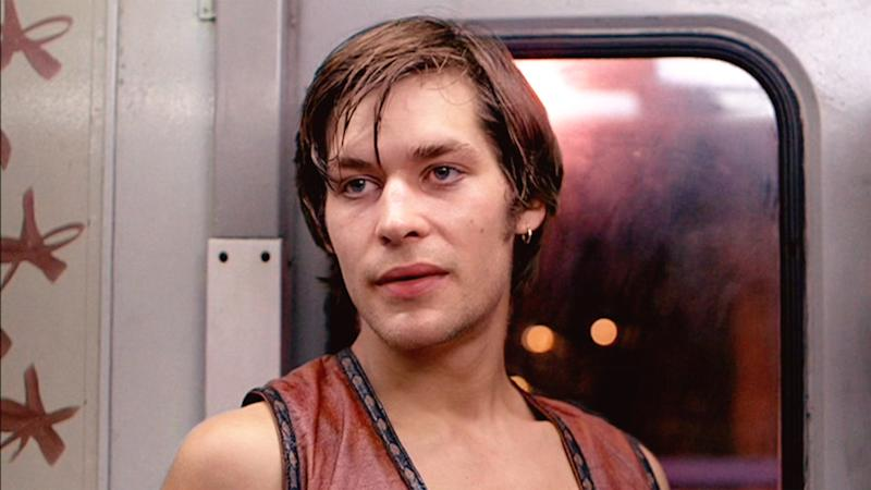 "NEW YORK - FEBRUARY 9: The movie ""The Warriors"", directed by Walter Hill. Seen here, James Remar as Ajax. Initial theatrical release February 9, 1979. Screen capture.Paramount Pictures. (Photo by CBS via Getty Images)"