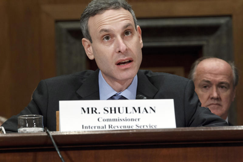 IRS commissioner Shulman to step down