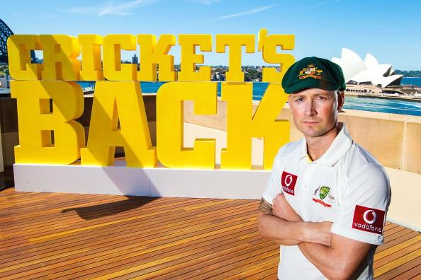 SYDNEY, AUSTRALIA - OCTOBER 15:  Australian Cricket captain Michael Clarke poses for a portrait during the Cricket Australia season launch at Museum of Contemporary Art on October 15, 2012 in Sydney, Australia.  (Photo by Mark Nolan/Getty Images)