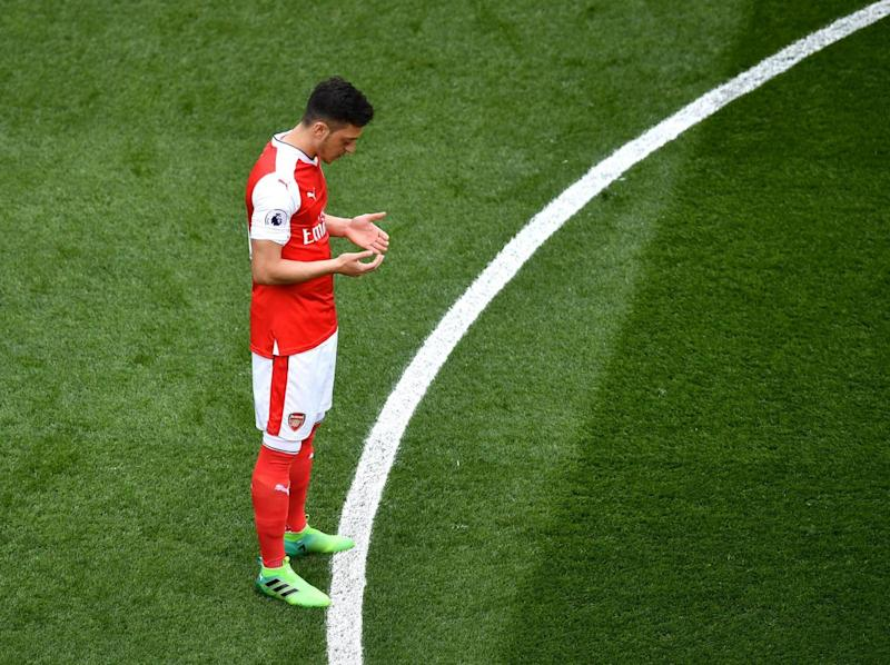 Ozil did very little of note in a poor display (Getty Images)