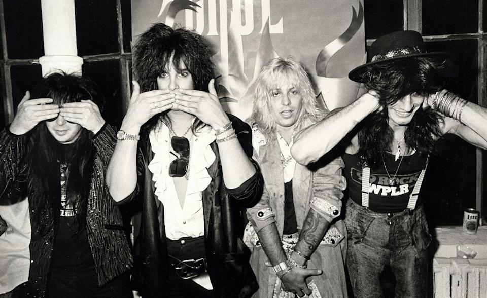 <p>Mötley Crüe's hard-partying and drug-fueled ways reportedly almost shattered the band, until their managers pulled an intervention. All the band members eventually went to rehab, except Mars who cleaned up on his own.</p>