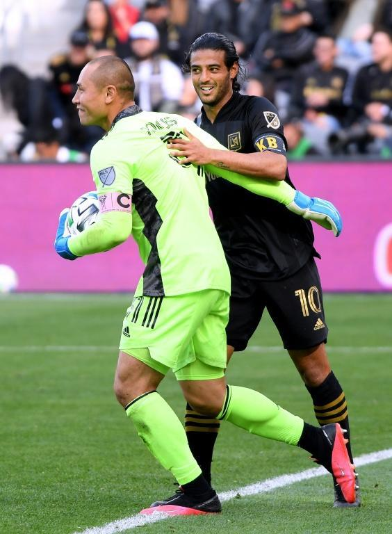 Inter Miami captain Luis Robles says training remotely has helped his endurance (AFP Photo/Harry How)