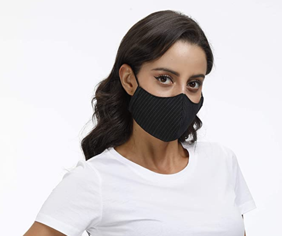 This mask can be washed and reused up to 50 times. (Photo: Amazon)