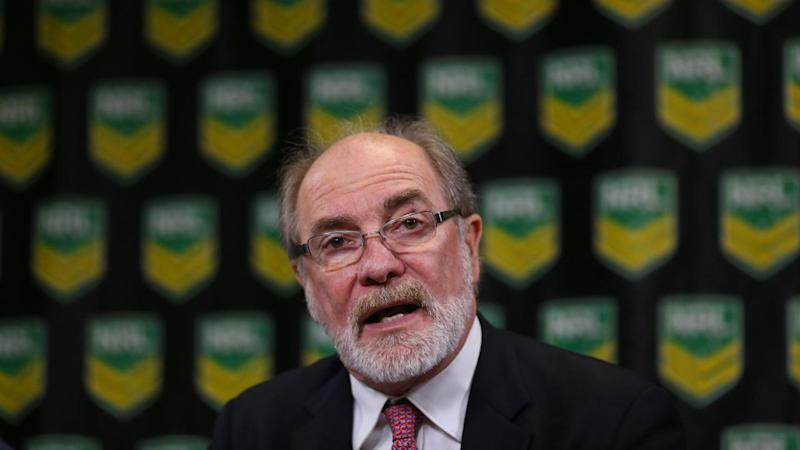 ARL commission chairman John Grant has saved his job after a meeting with disgruntled NRL clubs.