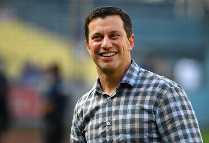 Andrew Friedman, President of Baseball Operations for the Los Angeles Dodgers.