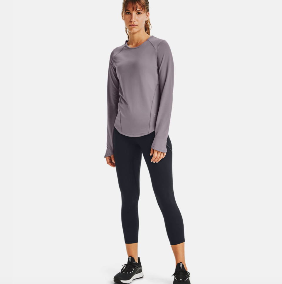 Under Armour debuts new collection of 'moisture-infused' workout gear