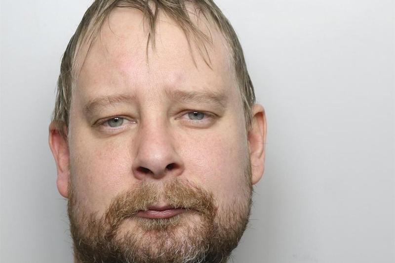 Gavin Sykes, 42, was sentenced to eight and a half years in prison (Picture: Police)