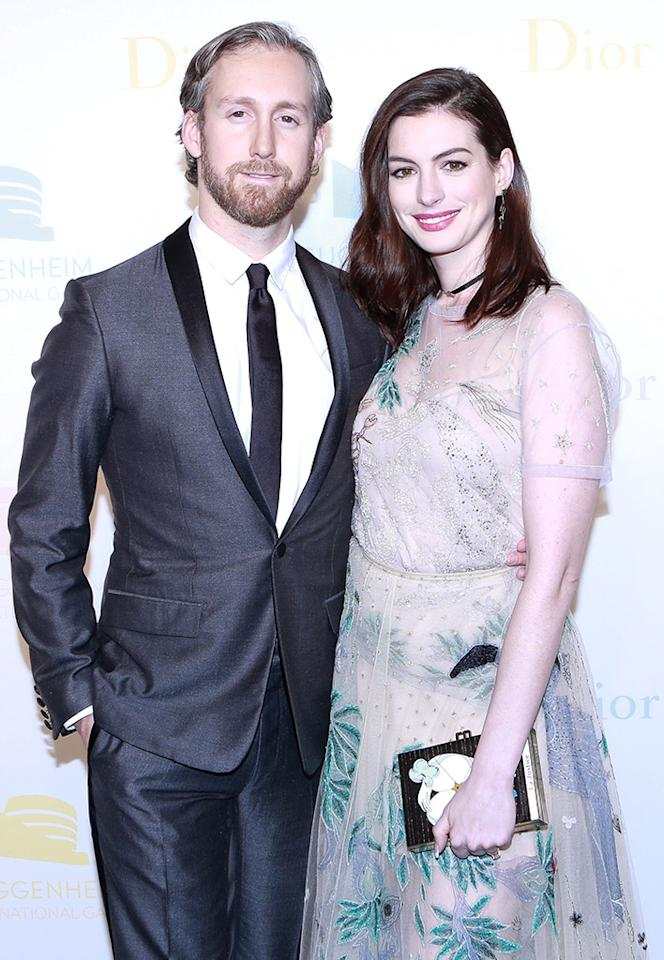 "<p>Anne Hathaway and her husband, Adam Shulman, stealthily welcomed their first child together, Jonathan Rosebanks, this spring. <a rel=""nofollow"" href=""<a href="