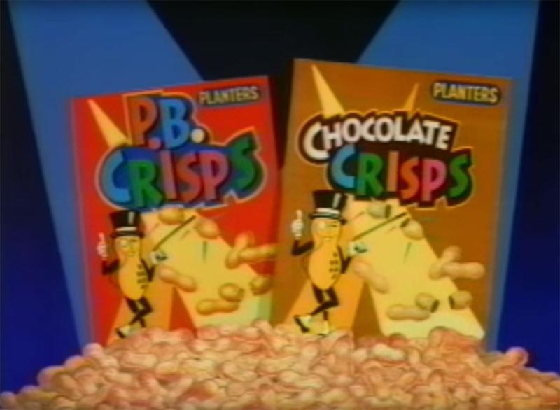 still from pb crisps commercial
