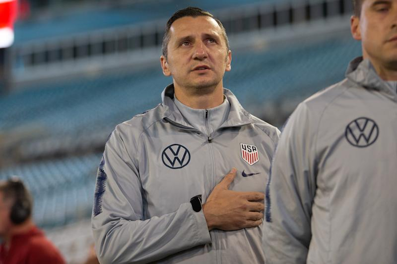 Macedonia native Vlatko Andonovski took a chance on a six-month indoor soccer contract in the United States. (Photo by David Rosenblum/Icon Sportswire via Getty Images)