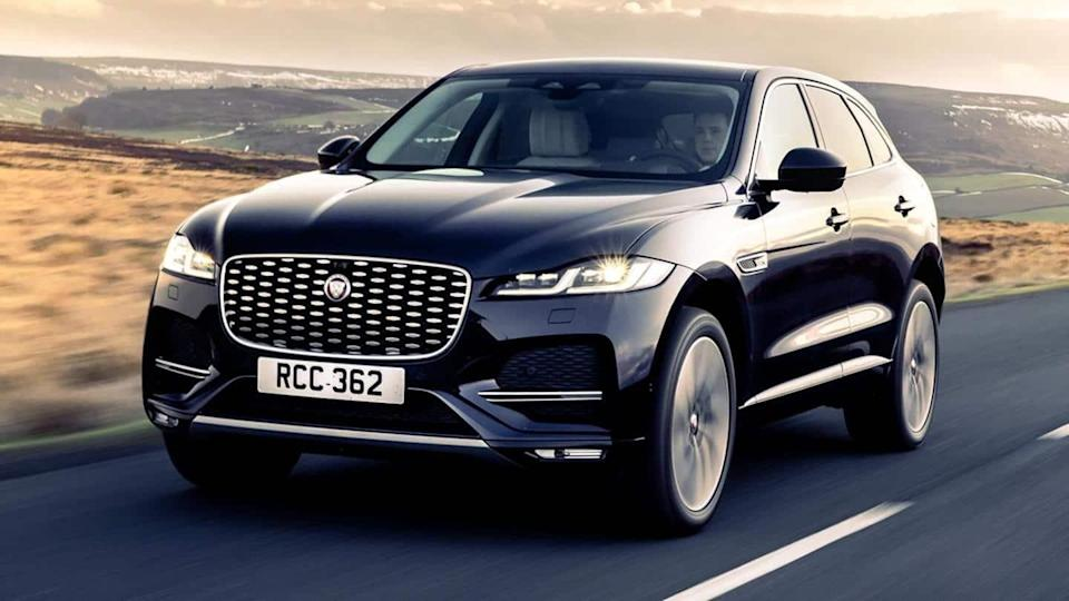 Jaguar F-PACE (facelift) SUV launched at Rs. 70 lakh