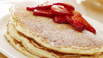 "<p>Start your day the lemony way with these bright pancakes straight out of The Cheesecake Factory's kitchen. These fluffy, slightly tart and brilliantly sweet pancakes are among <a href=""https://www.thedailymeal.com/50-best-brunch-recipes?referrer=yahoo&category=beauty_food&include_utm=1&utm_medium=referral&utm_source=yahoo&utm_campaign=feed"" rel=""nofollow noopener"" target=""_blank"" data-ylk=""slk:the best brunch recipes around"" class=""link rapid-noclick-resp"">the best brunch recipes around</a>.</p> <p><a href=""https://www.thedailymeal.com/recipes/cheesecake-factorys-lemon-ricotta-pancakes-recipe?referrer=yahoo&category=beauty_food&include_utm=1&utm_medium=referral&utm_source=yahoo&utm_campaign=feed"" rel=""nofollow noopener"" target=""_blank"" data-ylk=""slk:For The Cheesecake Factory's Lemon-Ricotta Pancakes recipe, click here."" class=""link rapid-noclick-resp"">For The Cheesecake Factory's Lemon-Ricotta Pancakes recipe, click here.</a></p>"