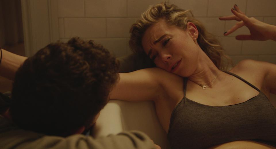 PIECES OF A WOMAN: (L to R) Shia LeBeouf as Sean and Vanessa Kirby as Martha (Netflix)
