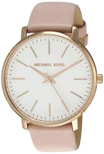 "<p><strong>Michael Kors</strong></p><p>amazon.com</p><p><strong>$149.97</strong></p><p><a href=""https://www.amazon.com/dp/B079HJRCD2?tag=syn-yahoo-20&ascsubtag=%5Bartid%7C10050.g.2973%5Bsrc%7Cyahoo-us"" rel=""nofollow noopener"" target=""_blank"" data-ylk=""slk:Shop Now"" class=""link rapid-noclick-resp"">Shop Now</a></p><p>Rose gold isn't just pretty on February 14! She can wear this watch all year long.</p>"
