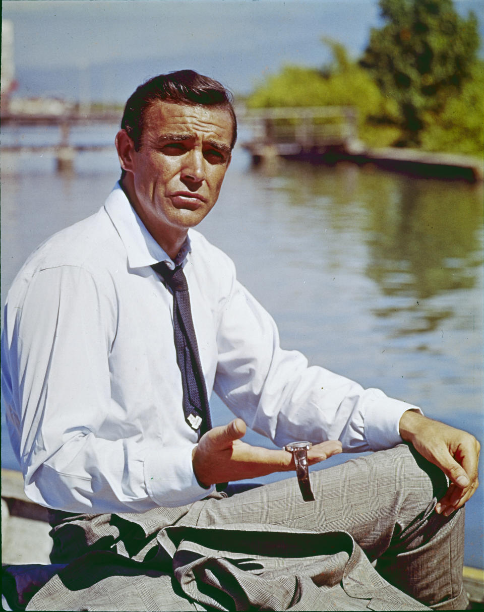 """Sean Connery in """"Dr. No"""" 1962   (Photo by RDB/ullstein bild via Getty Images)"""