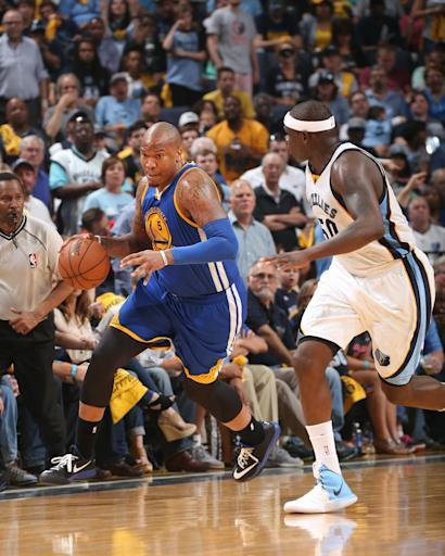 Warriors forward Marreese Speights out with strained calf