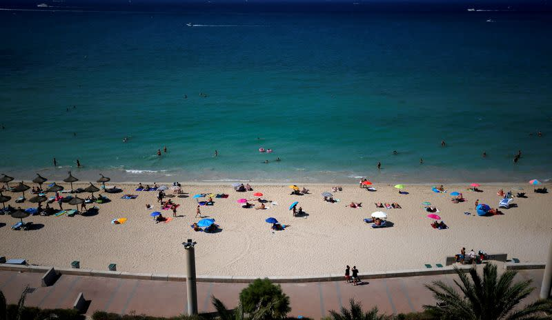 Spain visitor numbers climb but still only a fraction of 2019 levels