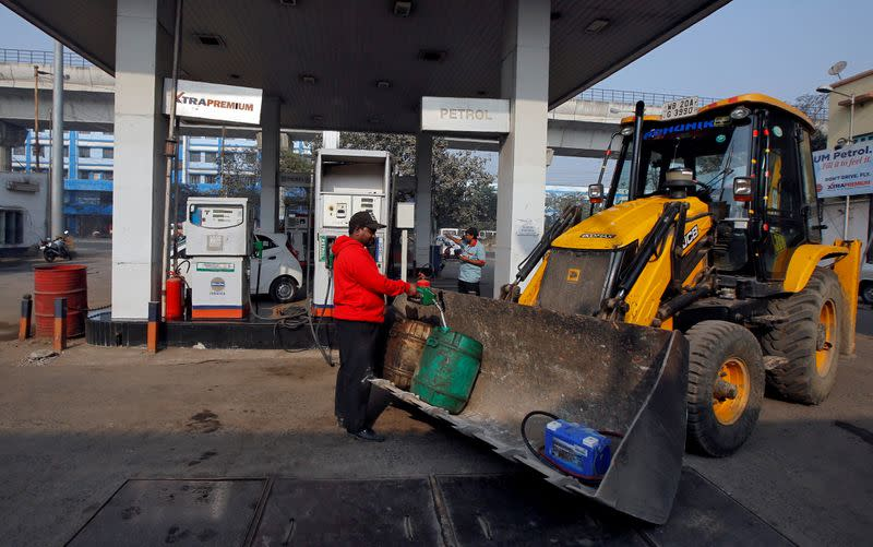 India's fuel demand nearly halves in April amid lockdown