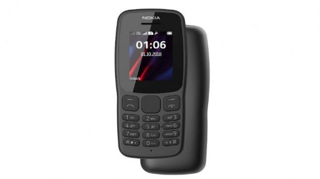 Nokia 106 features the Finnish smartphone maker's iconic Snake Xenzia game along with LED torch and FM radio.