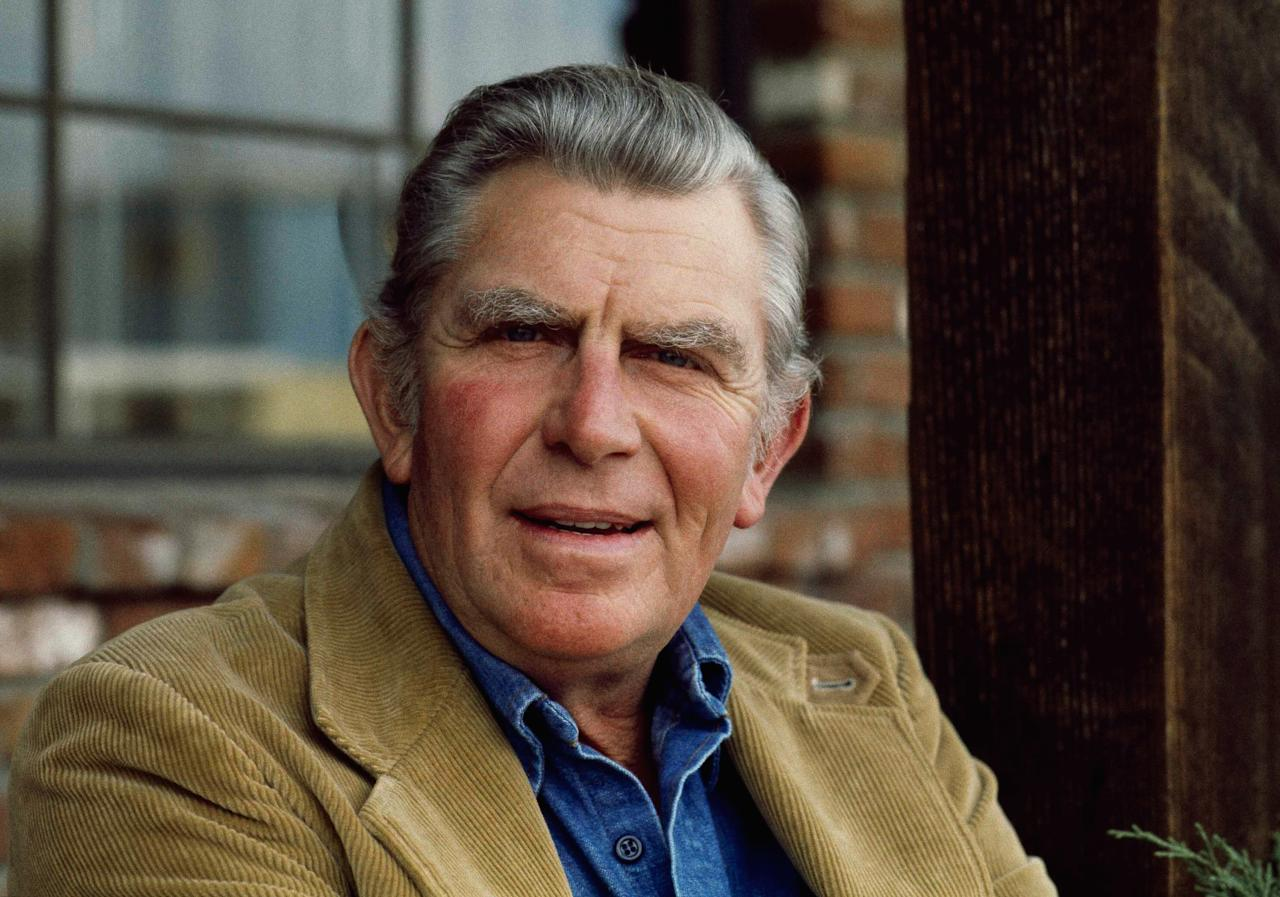 Actor Andy Griffith, Jan. 19, 1983. (AP Photo/Wally Fong)