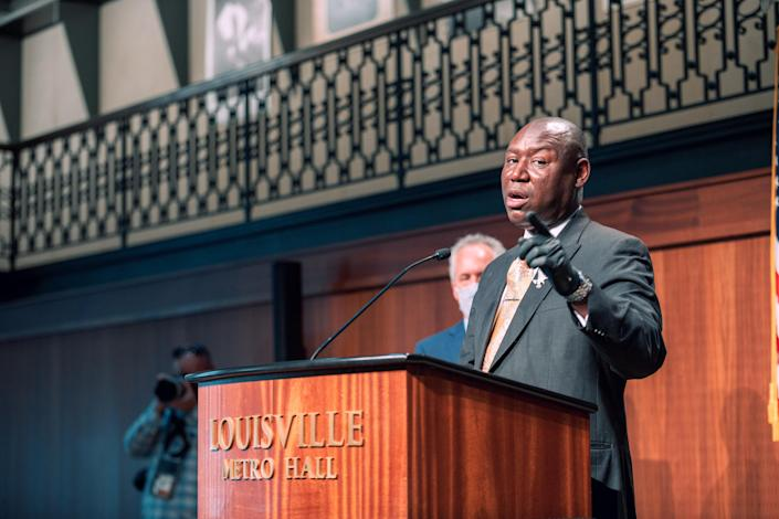Civil rights attorney Ben Crump. (Jon Cherry/Getty Images)