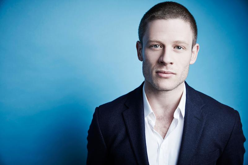 James Norton of A+E Network's 'War and Peace' poses in the Getty Images Portrait Studio at the 2016 Winter Television Critics Association press tour at the Langham Hotel on January 6, 2016 in Pasadena, California. (Photo by Maarten de Boer/Getty Images Portraits)