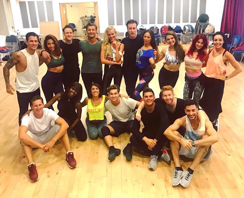 Photo credit: @bbcstrictly / Twitter