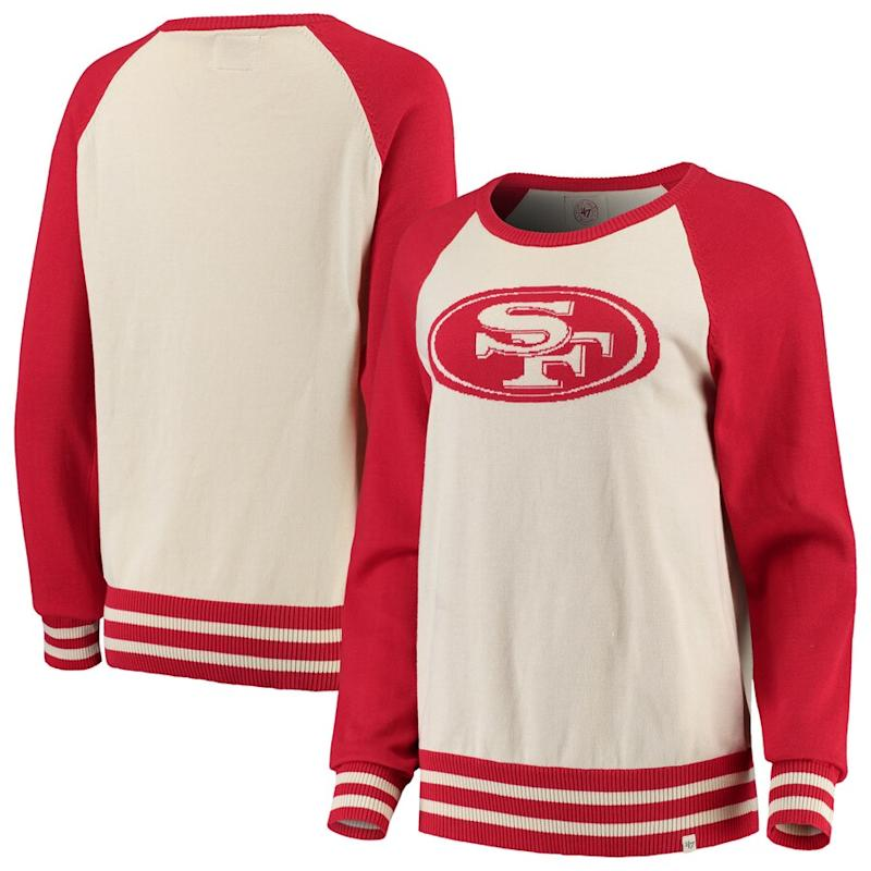 49ers '47 Women's Pullover Sweater