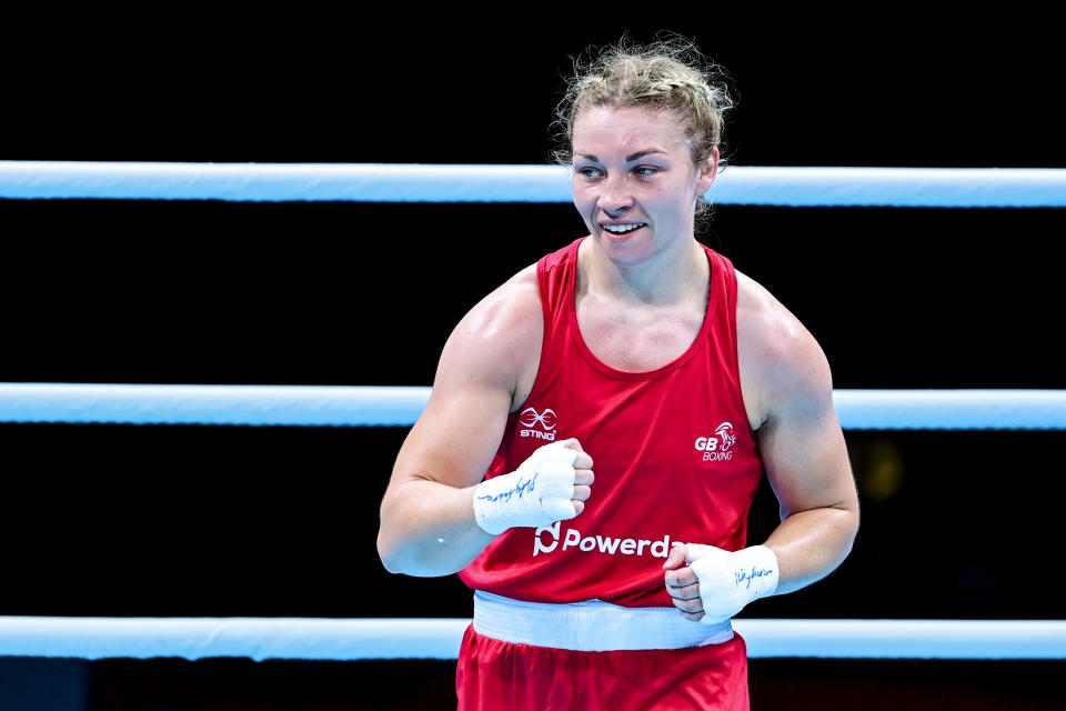 Boxer Lauren Price is Wales's first ever amateur world champion (Picture: Reuters)