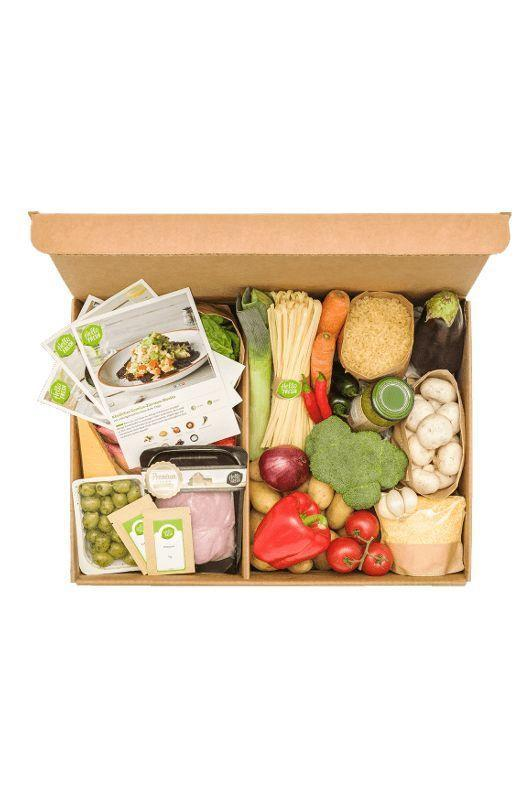 """<p><strong>Hello Fresh</strong></p><p>hellofresh.com</p><p><strong>$8.99</strong></p><p><a href=""""https://go.redirectingat.com?id=74968X1596630&url=https%3A%2F%2Fwww.hellofresh.com%2Fplans&sref=https%3A%2F%2Fwww.goodhousekeeping.com%2Fholidays%2Fgift-ideas%2Fg29003353%2Fcheap-christmas-gifts%2F"""" rel=""""nofollow noopener"""" target=""""_blank"""" data-ylk=""""slk:Shop Now"""" class=""""link rapid-noclick-resp"""">Shop Now</a></p><p>If they've talked about cooking more in the year ahead, look no further than a subscription from Hello Fresh. Each week, they'll send a box of meals straight to their door, along with easy-to-follow instructions.</p>"""
