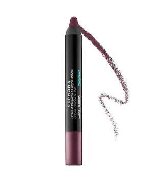 """Kaling says she is currently obsessed with the&nbsp;<a href=""""https://fave.co/2HrN0ir"""" target=""""_blank"""" rel=""""noopener noreferrer""""><strong>Sephora Collection Colorful Shadow and Liner</strong></a>, a jumbo eye pencil that can be used as a liner or blended out as an eyeshadow. It&rsquo;s available in 30 colors and three finishes &mdash; matte, shimmer and glitter &mdash; for <strong><a href=""""https://fave.co/2HrN0ir"""" target=""""_blank"""" rel=""""noopener noreferrer"""">just&nbsp;$14 at Sephora</a></strong>. (Photo: Sephora)"""