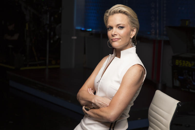 FILE - In this May 5, 2016 file photo, Megyn Kelly poses for a portrait in New York. Fox News Channel's Bill O'Reilly is questioning Kelly's loyalty for writing in her just-published memoir and talking about accusations that former Fox chief Roger Ailes made unwanted sexual advances on her a decade ago. Kelly responded that she had the support of her new bosses to write about the incidents. (Photo by Victoria Will/Invision/AP, File)