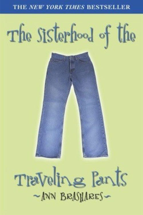 """<p><strong><em>The Sisterhood of the Traveling Pants</em> by Ann Brashares </strong></p><p><span class=""""redactor-invisible-space"""">$6.98 <a class=""""link rapid-noclick-resp"""" href=""""https://www.amazon.com/Sisterhood-Traveling-Pants-Book-1/dp/0385730586/ref=pd_sbs_14_1?tag=syn-yahoo-20&ascsubtag=%5Bartid%7C10063.g.34149860%5Bsrc%7Cyahoo-us"""" rel=""""nofollow noopener"""" target=""""_blank"""" data-ylk=""""slk:BUY NOW"""">BUY NOW</a> </span></p><p><span class=""""redactor-invisible-space""""><em>The Sisterhood of the Traveling Pants</em> is the first book in the beloved series of four. It's about an ordinary pair of pants that gets passed between four best friends as they spend summer vacations in four very different environments. In 2005, the book was made into a movie starring Alexis Bledel, America Ferrera, Blake Lively, and Amber Tamblyn.<br></span></p>"""