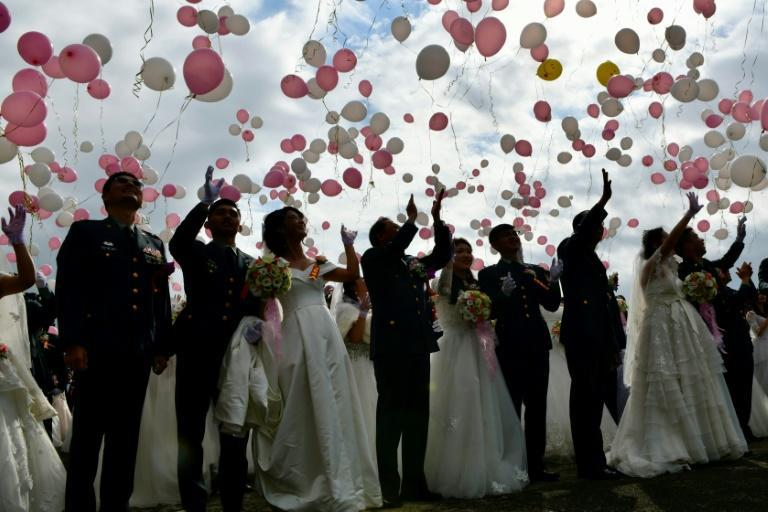 Last year, Taiwan became the first place in Asia to allow same-sex marriage