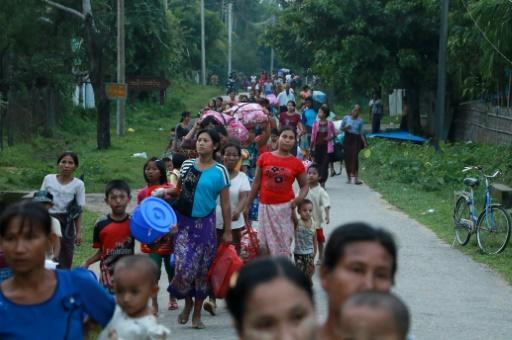 Terrified residents flee northern Myanmar as crackdown widens