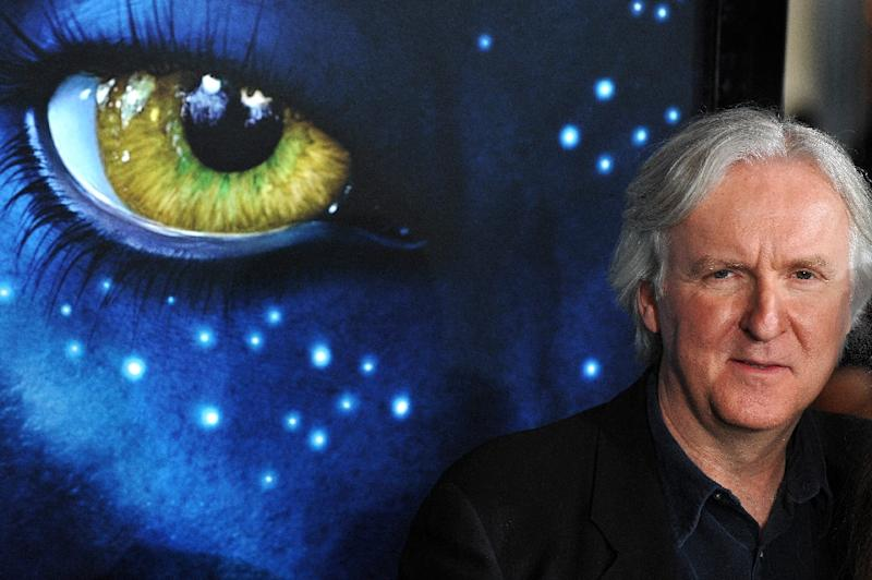 "James Cameron's Oscar-winning futuristic sci-fi epic ""Avatar"" earned $760.5 million in North America (AFP Photo/Robyn Beck)"