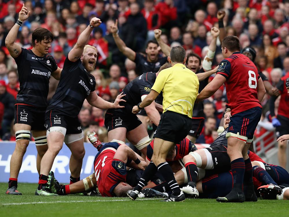 Saracens will spend a few days in Barcelona before returning to face Bristol at the weekend: Getty