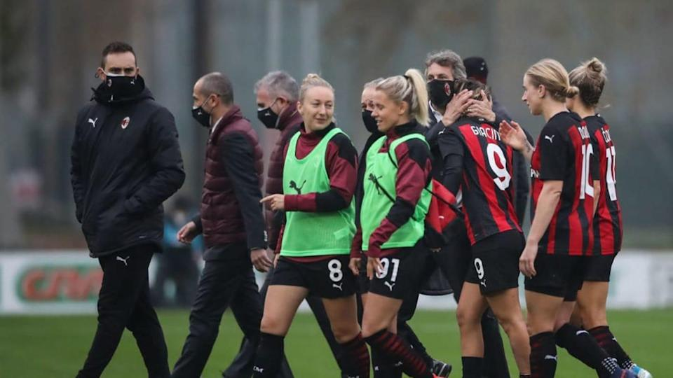 Il Milan femminile | Jonathan Moscrop/Getty Images