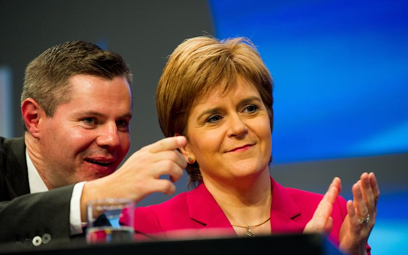 Derek Mackay is expected to announce income tax rises - All images © Stuart Nicol Photography 2014.