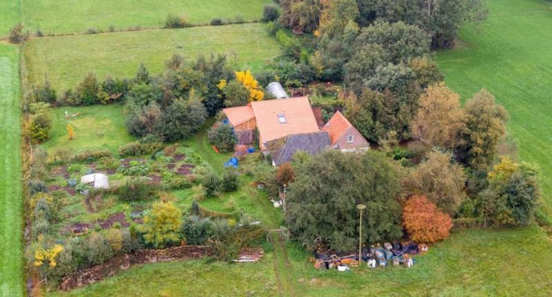 Farm where Dutch family was found trapped inside a cellar, where they were kept for nine years.