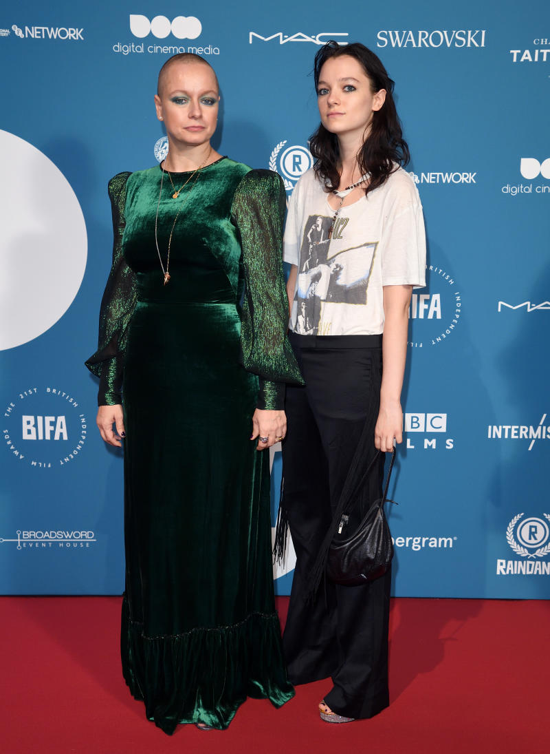 Samantha Morton and Esme Creed-Miles attend the 21st British Independent Film Awards at Old Billingsgate on December 2, 2018 in London, England. (Photo by Karwai Tang/WireImage)