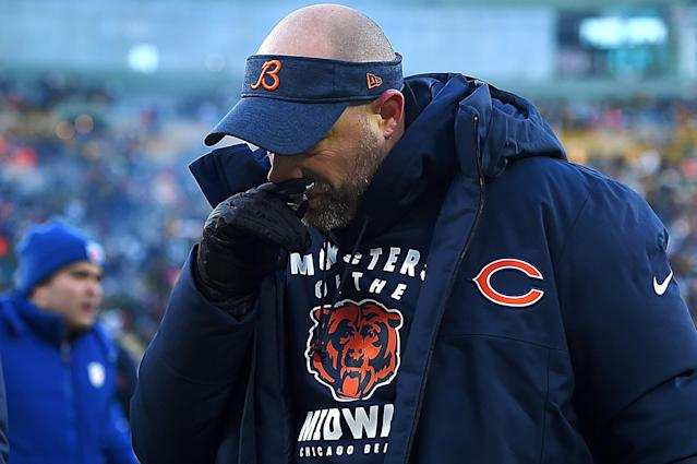 The Bears dropped another close game to the Packers. (Photo by Stacy Revere/Getty Images)