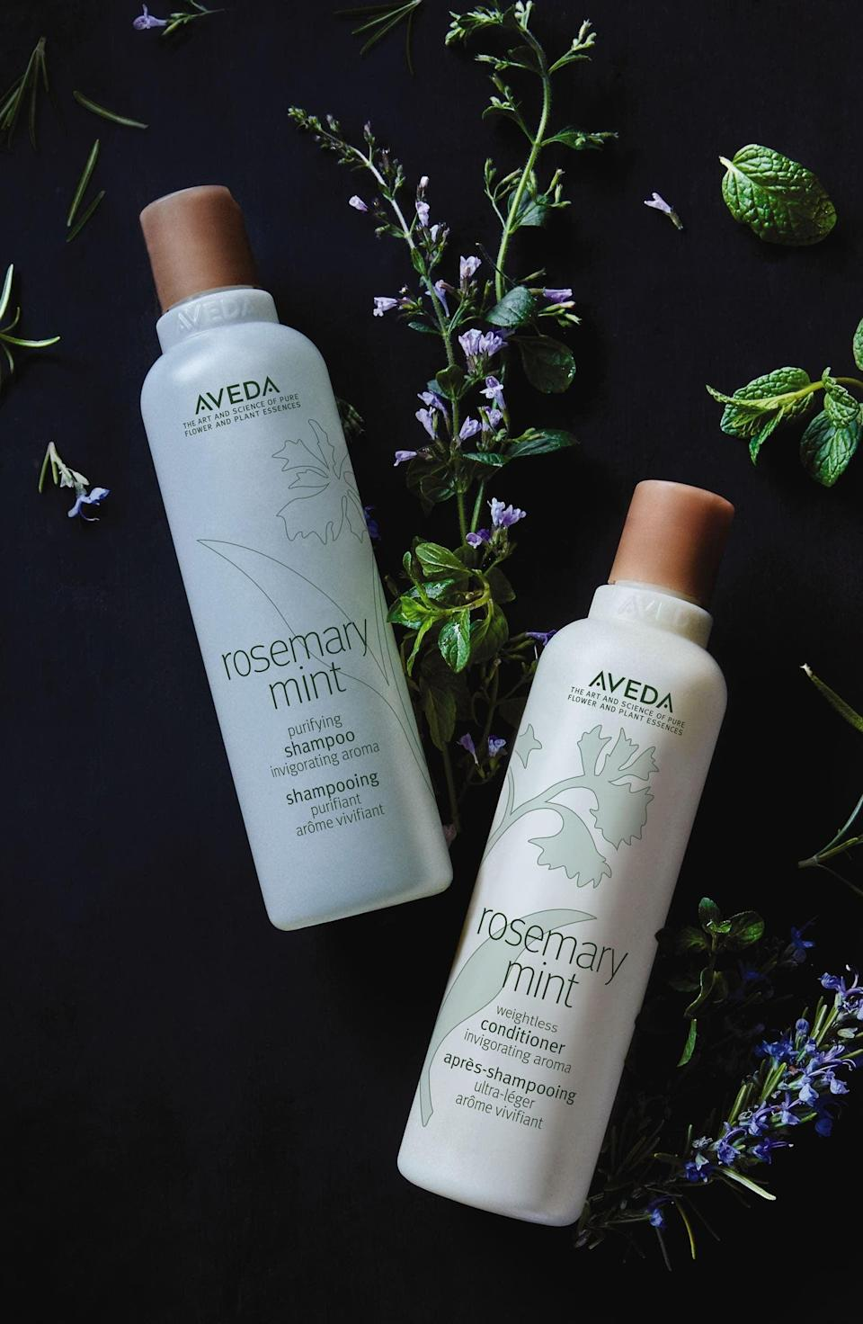 <p><span>Aveda Rosemary Mint Purifying Shampoo</span> ($46, originally $57)</p>